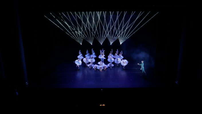 swan lake louisville ballet with lasers Lapis Laser Display