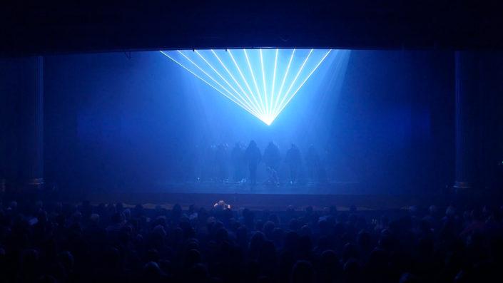 swan lake lapis laser louisville ballet light show