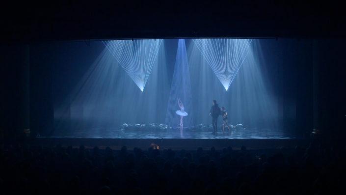 Swan lake opening louisville laser ballet odette